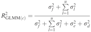 R^2 for linear mixed effects models – sample(ECOLOGY)
