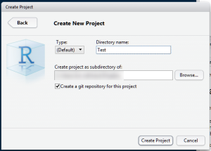 setproject